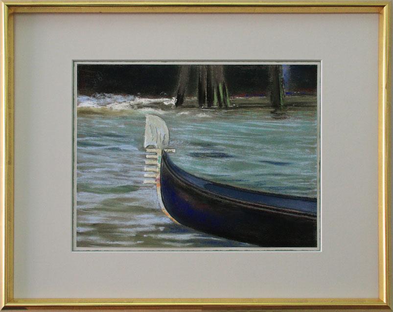 """""""Venedig - Gondel"""" (Pastell), 60 cm x 40 cm"""