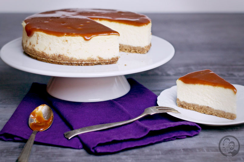New York Cheesecake mit Salted Caramel_Martha Stewart_Rezept_backen