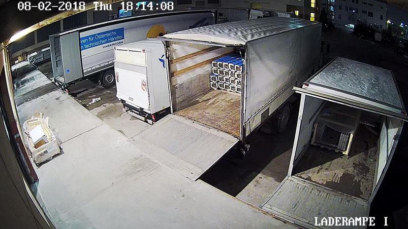 Videoüberwachung Lostikgzentrum, Logistiküberwachung, Videosystem, Videoüberwachung Wien