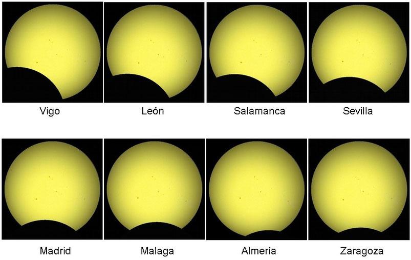 Cómo y dónde ver eclipse solar en España (A las 20:45 aprox) Image