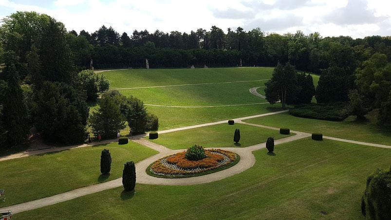 Schloß Valtice, mit Garten