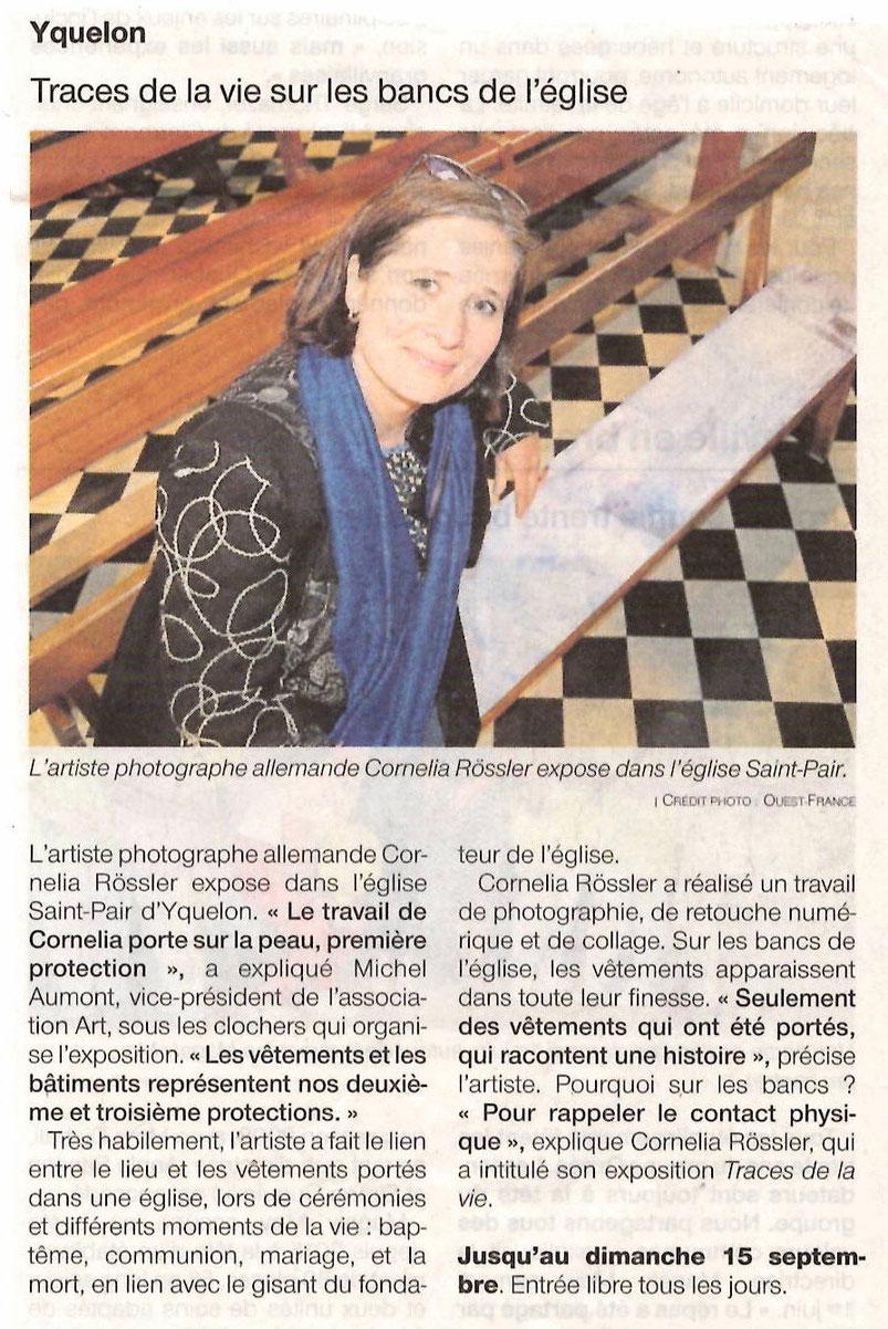 Ouest France - 3 juin 2019