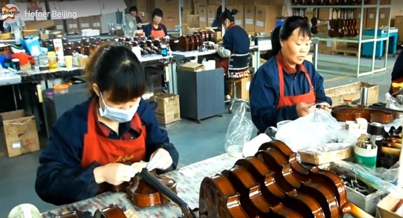 Скрипка, альт, виолончель, контрабас, HOFNER  из Китая