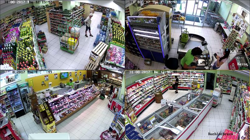 Verkaufsüberwachung, Videoüberwachung Einzelhandel, Warensicherung, Diebstahlschutz