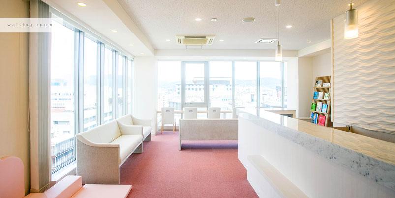 下京区四条烏丸のメンタルクリニックの雰囲気、内装