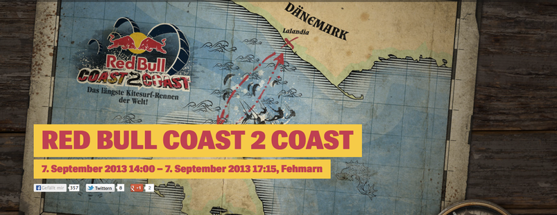 RedBull Coast to Coast mit Ozone Team