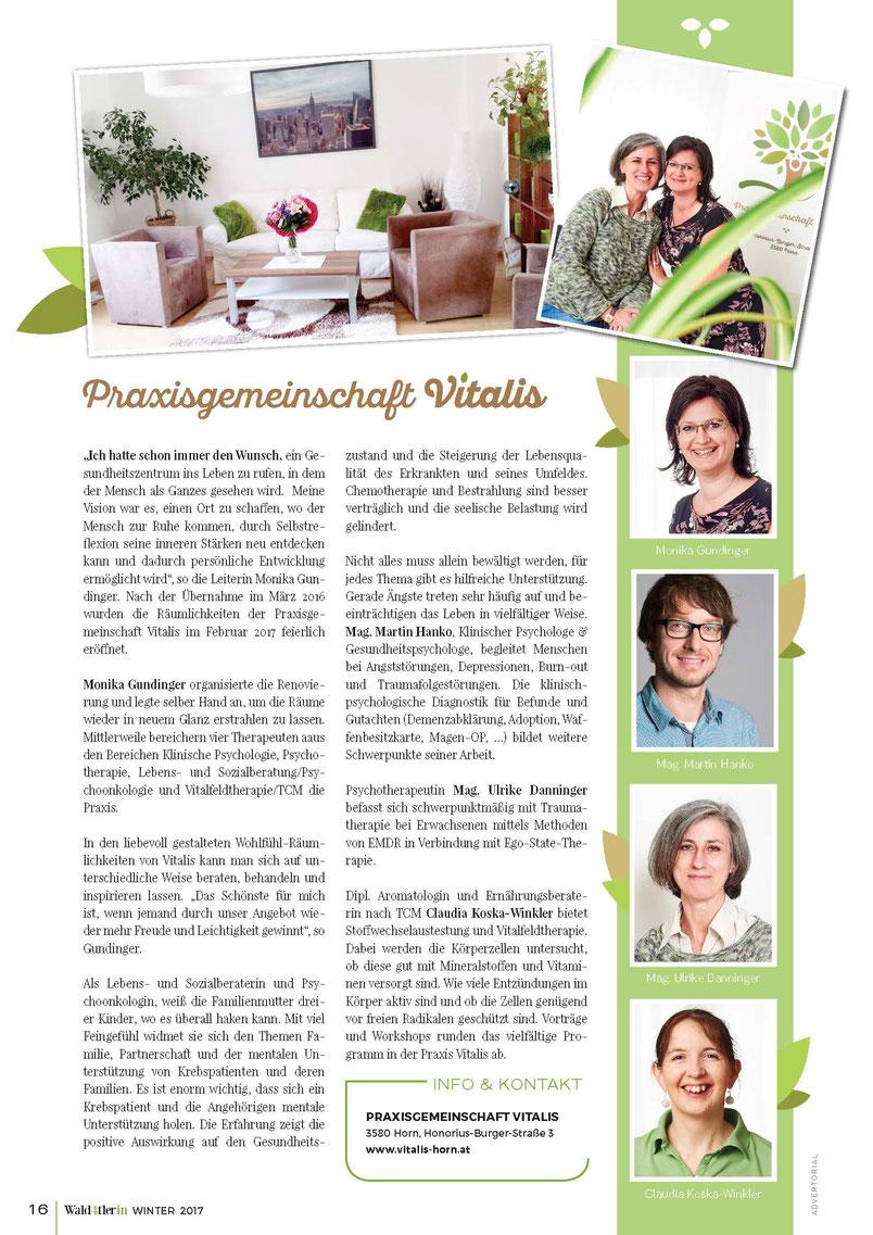 Praxisgemeinschaft Vitalis, Horn, Niederösterreich
