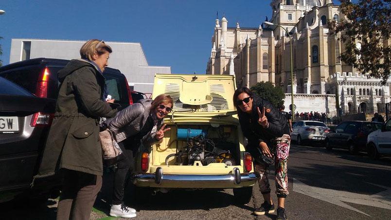 Seat 600 tour Almudena Madrid