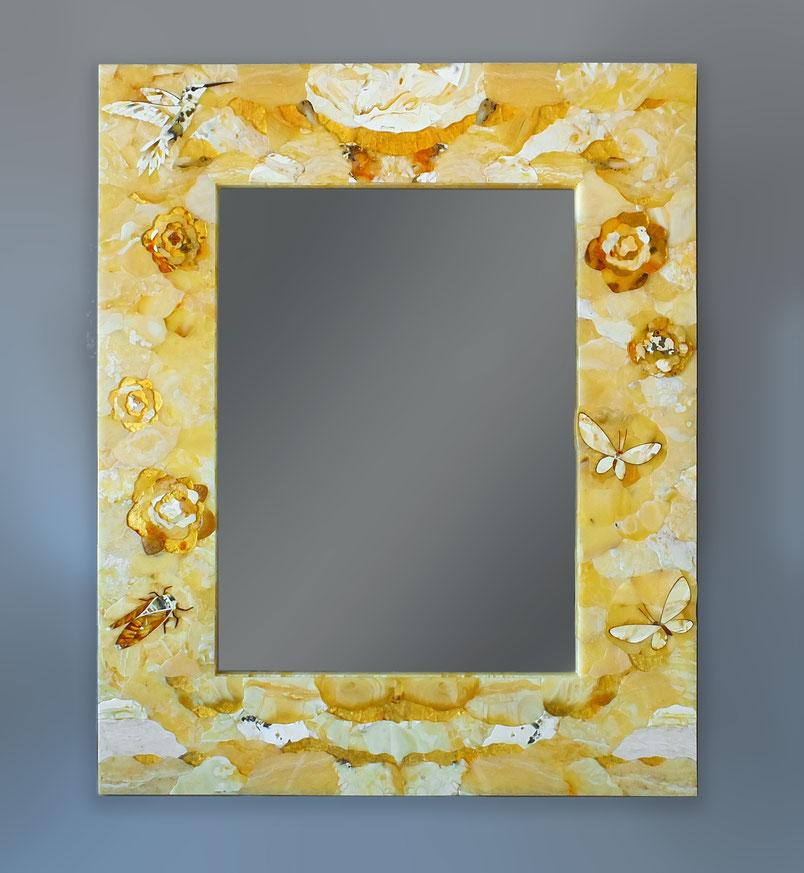 янтарь балтийский мозаика зеркало натуральный Калининград