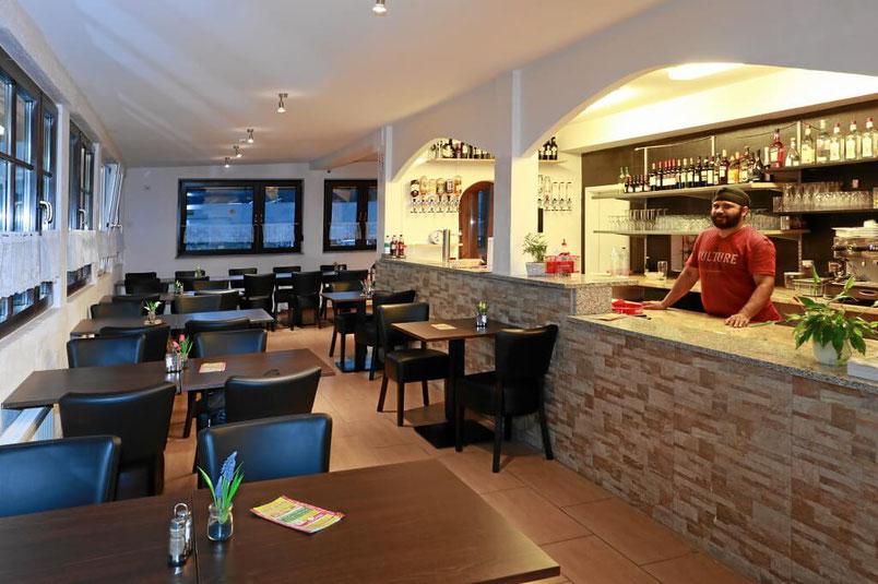 Pizzeria und Restaurant Milano in Lörrach Hauingen im Indutstriegebiet bei ATU