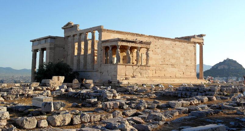 Partenone Cariatidi Atene Grecia