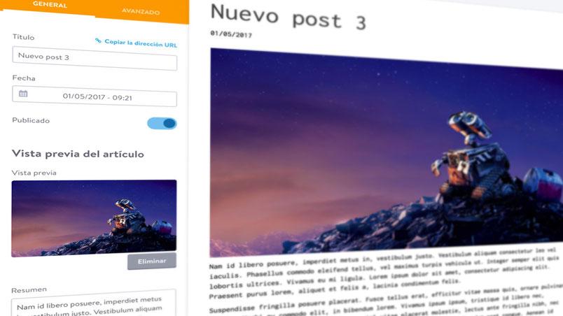 Nuevas funciones para el blog de Jimdo