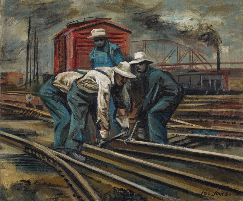 """Joe Jones, """"Operai della ferrovia"""" (1940)"""