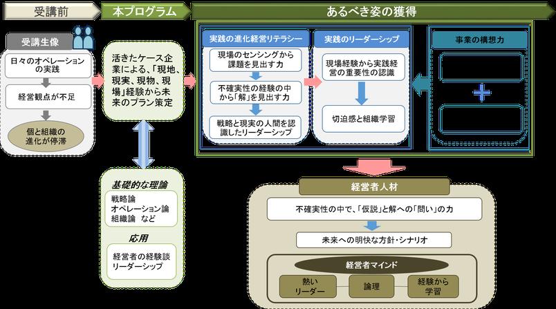 オペレーション 仮説 戦略 経営 リーダー センシング 組織 学習 実践 進化