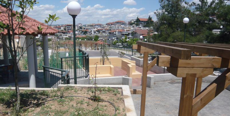 Dimitris Germanos, Espaces ouverts pour relier l'école et son quartier