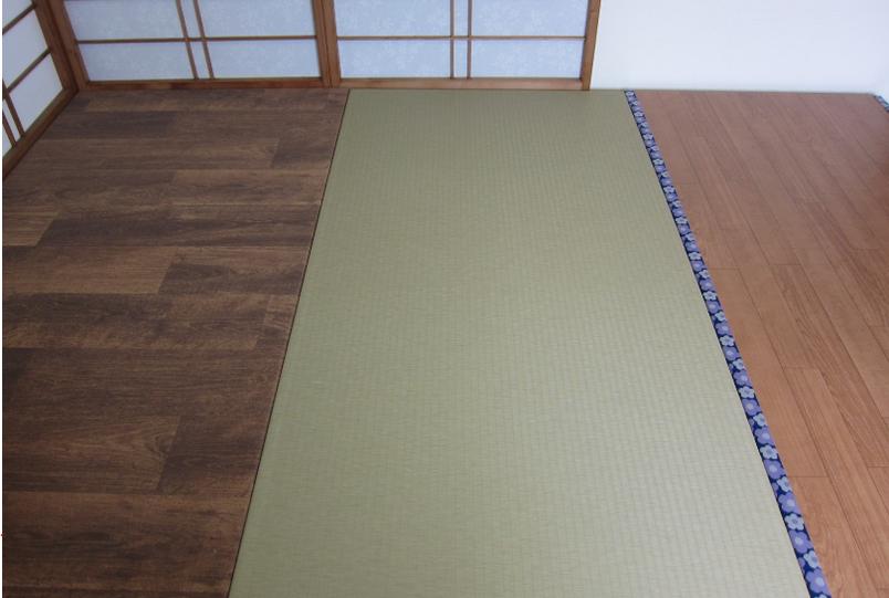 3種類の床材は全て、「リフォーム畳®」です。介護保険住宅改修補助金・対象の機能性があります。