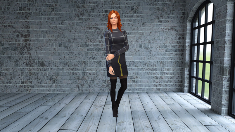 sims 4 cas create a sim background pose the sims resource redhead