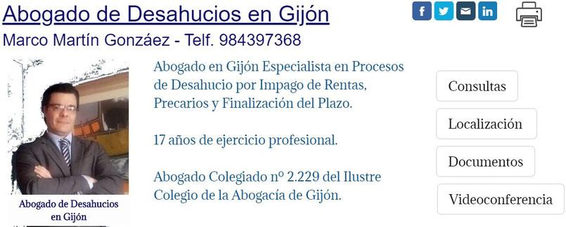 Abogada de Desahucios en Gijón