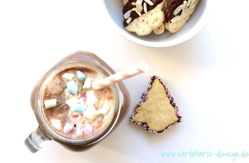 Klassische Hot Chocolate. Einfache Anleitung und super lecker!