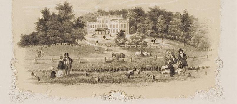 Sonsbeek 1822-1875. Bron: Gelders Topografisch-Historische Atlas Gelderland, 3037
