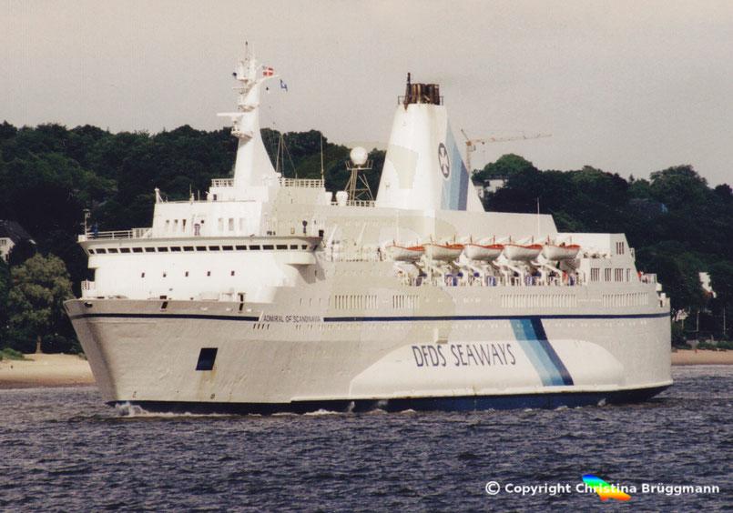 """Fährschiff """"ADMIRAL OF SCANDINAVIA"""""""