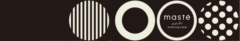 Logo der Washi Tape Marke masté