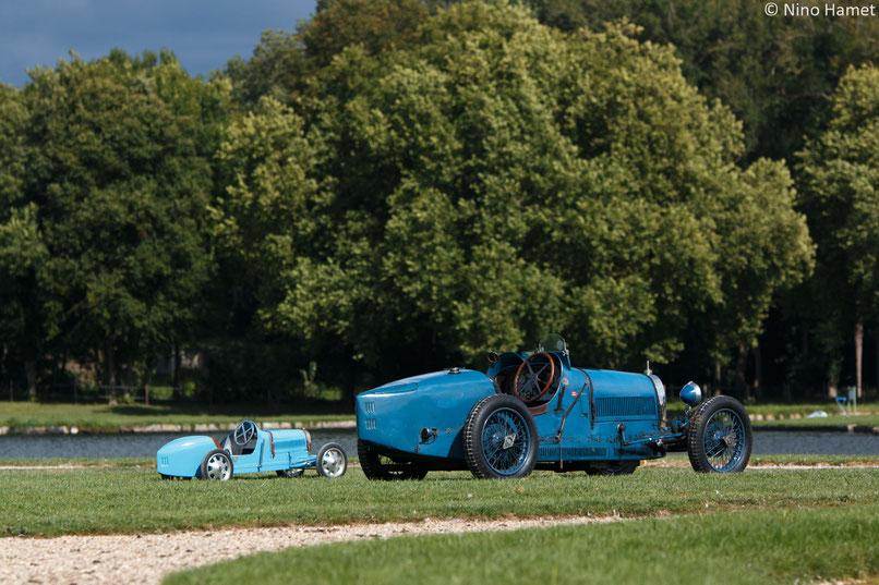 Bugatti Type 52 Baby (1926) &  Bugatti Type 35 – 1926 - Chantilly 2017