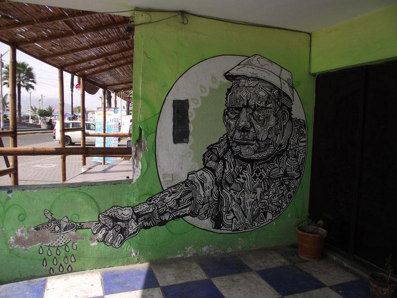 Huanchaco street-art