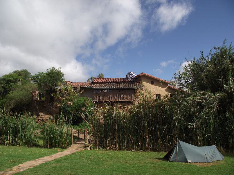 El Jardin campsite and accomodation, Samaipata, Bolivia