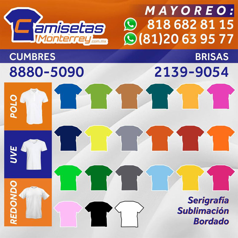 Playeras Dry Fit Economica Monterrey - Camisetas Monterrey 25faacd11b376