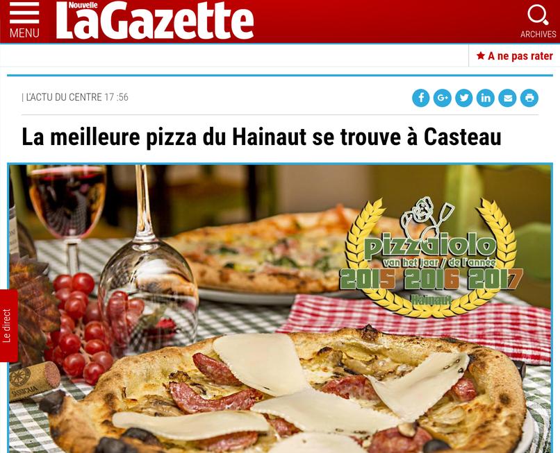 la meilleure pizza du hainaut, pizzeria la bottega della pizza casteau, soignies, hainaut, mons, belgique