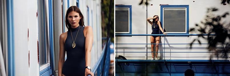 Swimwear aus der Kollektion des nachhaltigen Labels Under the same sun aus Schweden