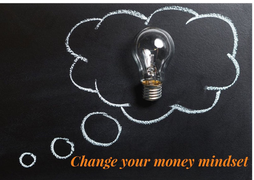 change your money mindset, think about your money