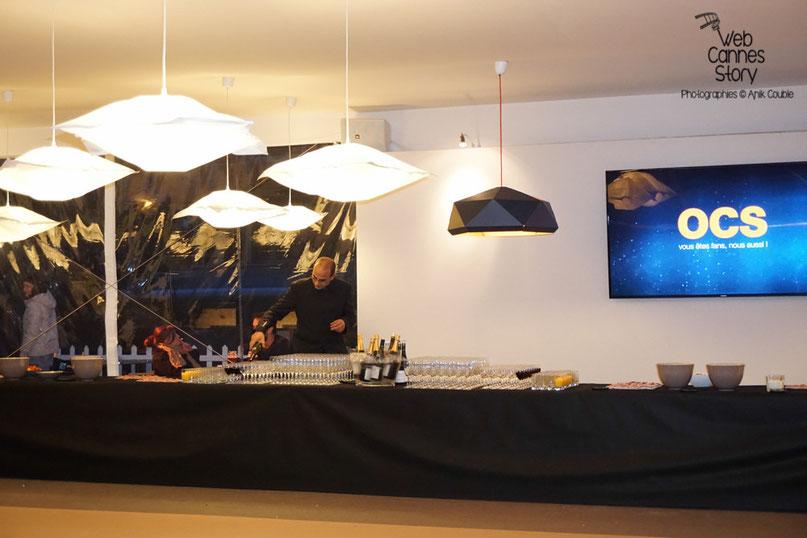 Les préparatifs de la fête en l'honneur des bénévoles - Clôture du Festival Lumière - Lyon - Octobre 2015 - Photo © Anik COUBLE