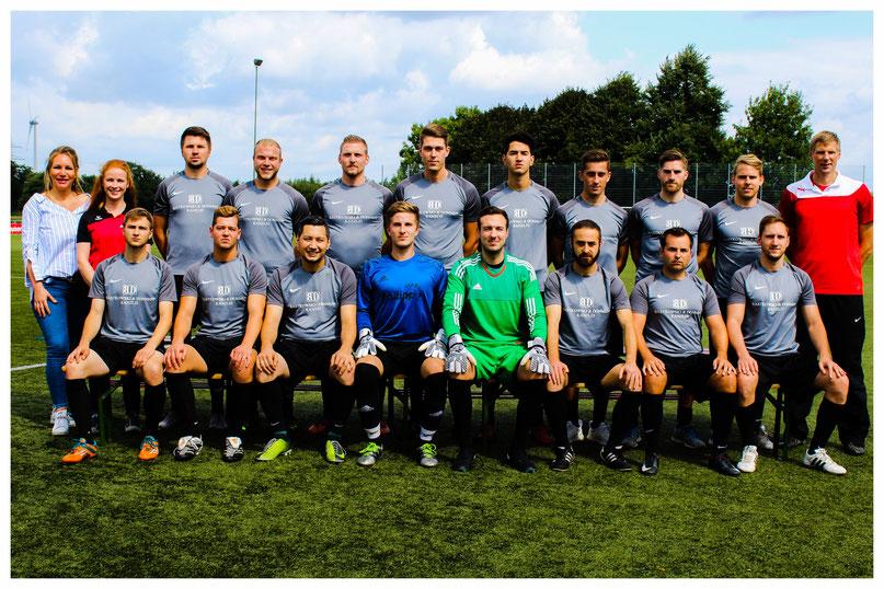 Teamfoto Saison 2017/2018