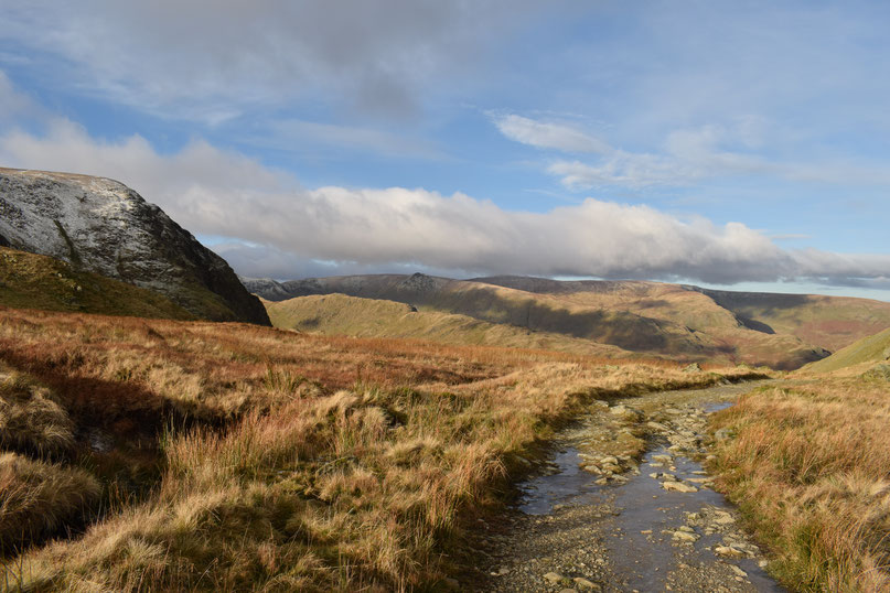 Harter Fell from Gatescarth Pass, Lake District