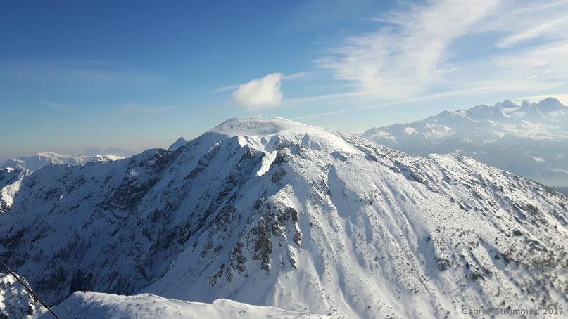 Blick vom Gipfel des Braunedlkogels zum Gamsfeld (2027 m)