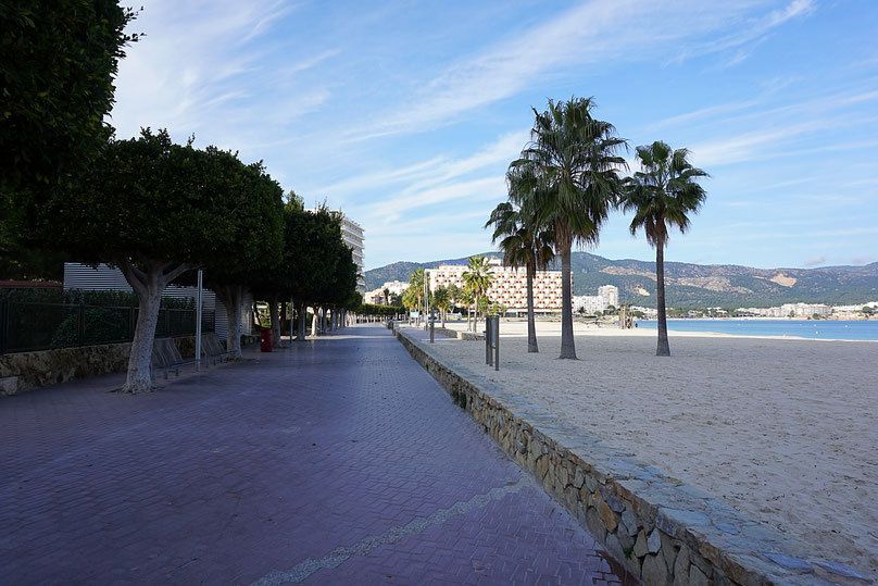 Carrer Duc Estremera, Promenade, magaluf, beach, Strand, Mallorca