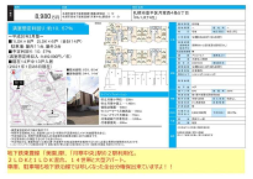 2021.02.02【売アパート】豊平区1LDK・2LDK 8,980万円 他4物件 モザイク済