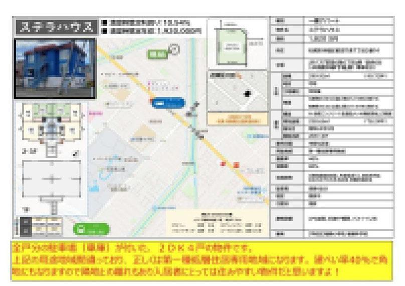2021.07.20【売アパート】手稲区2DK 1,820万円 他7物件 モザイク済