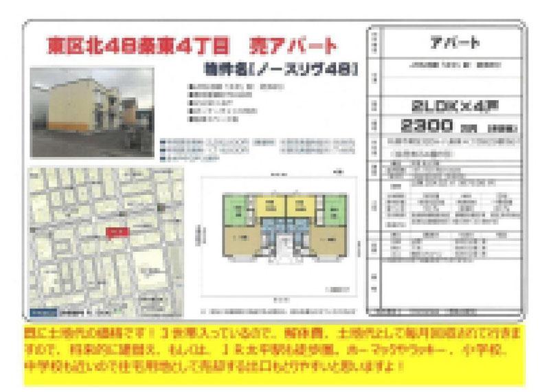 2021.01.26【売アパート】東区2LDK 2,300万円 他6物件 モザイク済