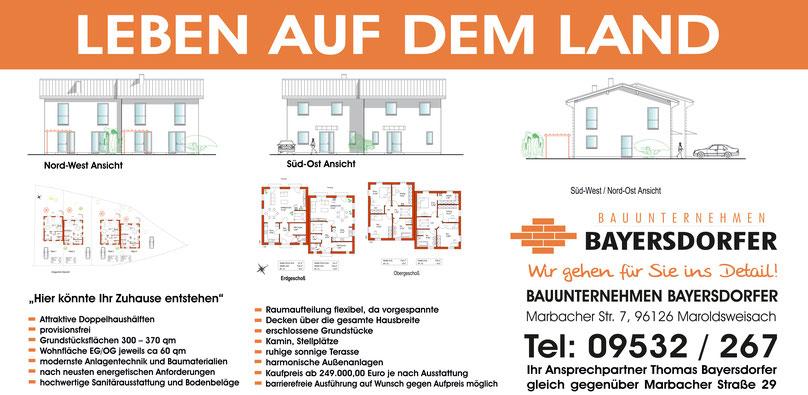 leben auf dem land bauunternehmen bayersdorfer. Black Bedroom Furniture Sets. Home Design Ideas