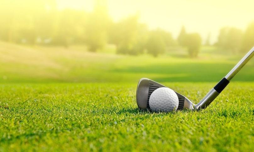 趣味はゴルフ