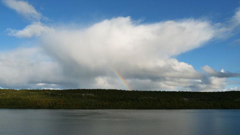 Regenbogen Finnnmark Finnland Skandinavien #NordkappUndZurück #Driveyourownway #explorewithoutnoimits wolf78-overland