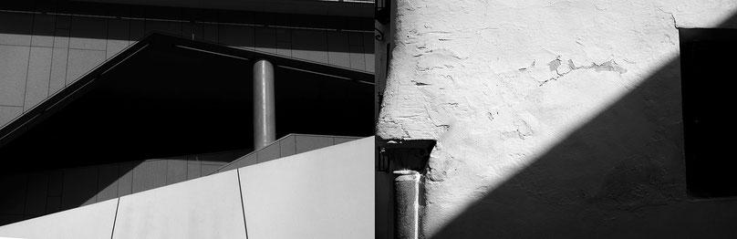 Mathieu Guillochon photographe, Espagne, Andalousie, Cordoue, France, Ile de France, La Défense, architecture, ancien, contemporain, noir et blanc, ombre et lumière, colonnes.