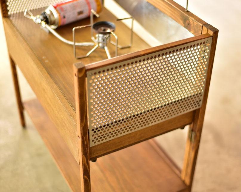 ソロキャンプテーブル DIY