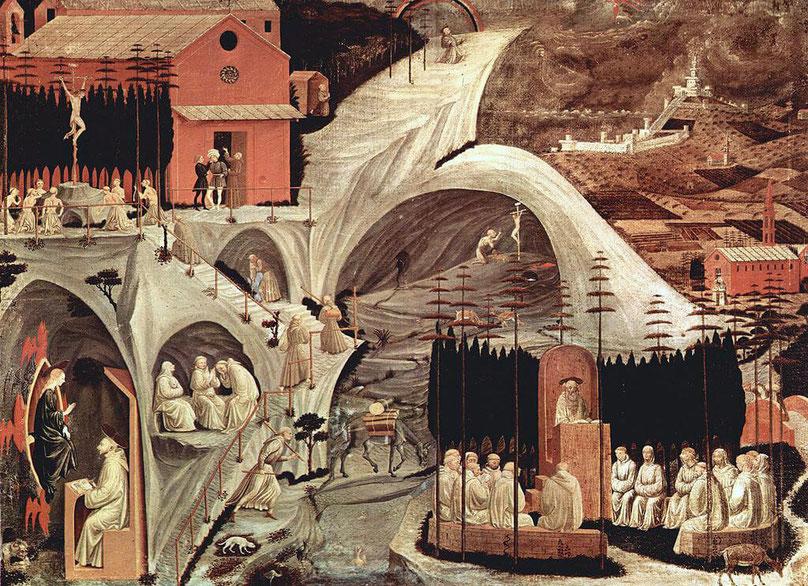 Paolo Uccello, Episoden aus dem eremitschen Leben, 1460