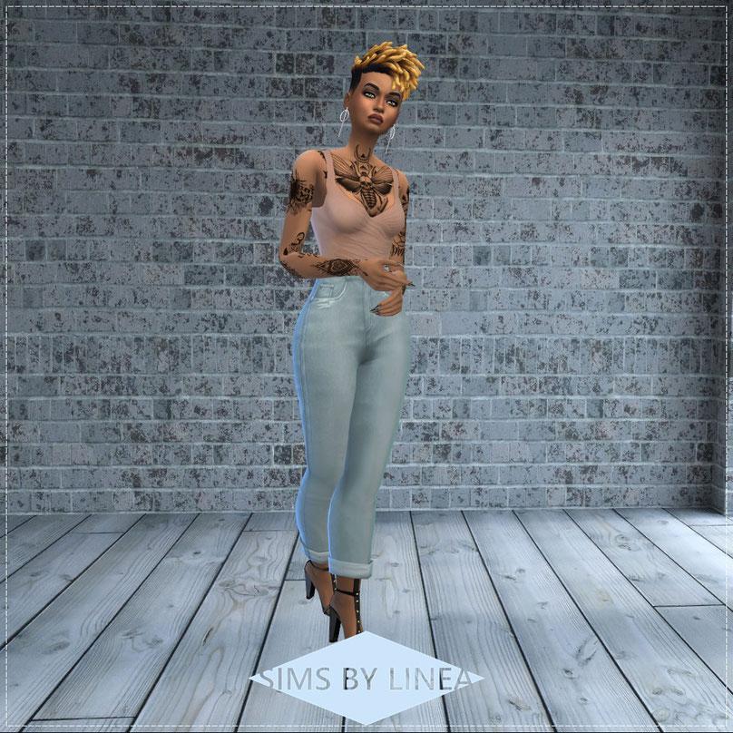 sims 4 cas create a sim custom content pose cas background tattoo girl
