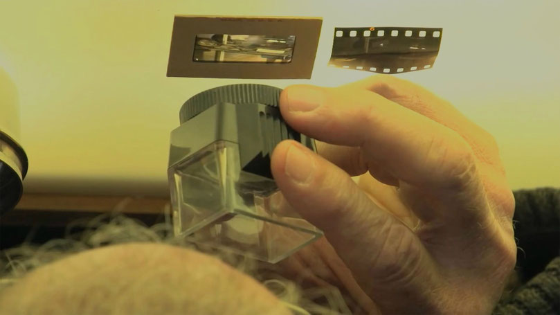 fotogramma ruotato di 180° provieniente dal trailer di Kodachrome