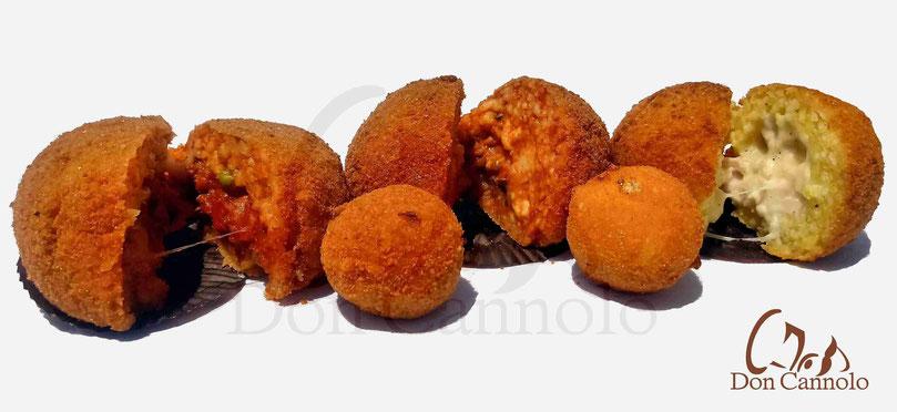 Vendita online arancini siciliani